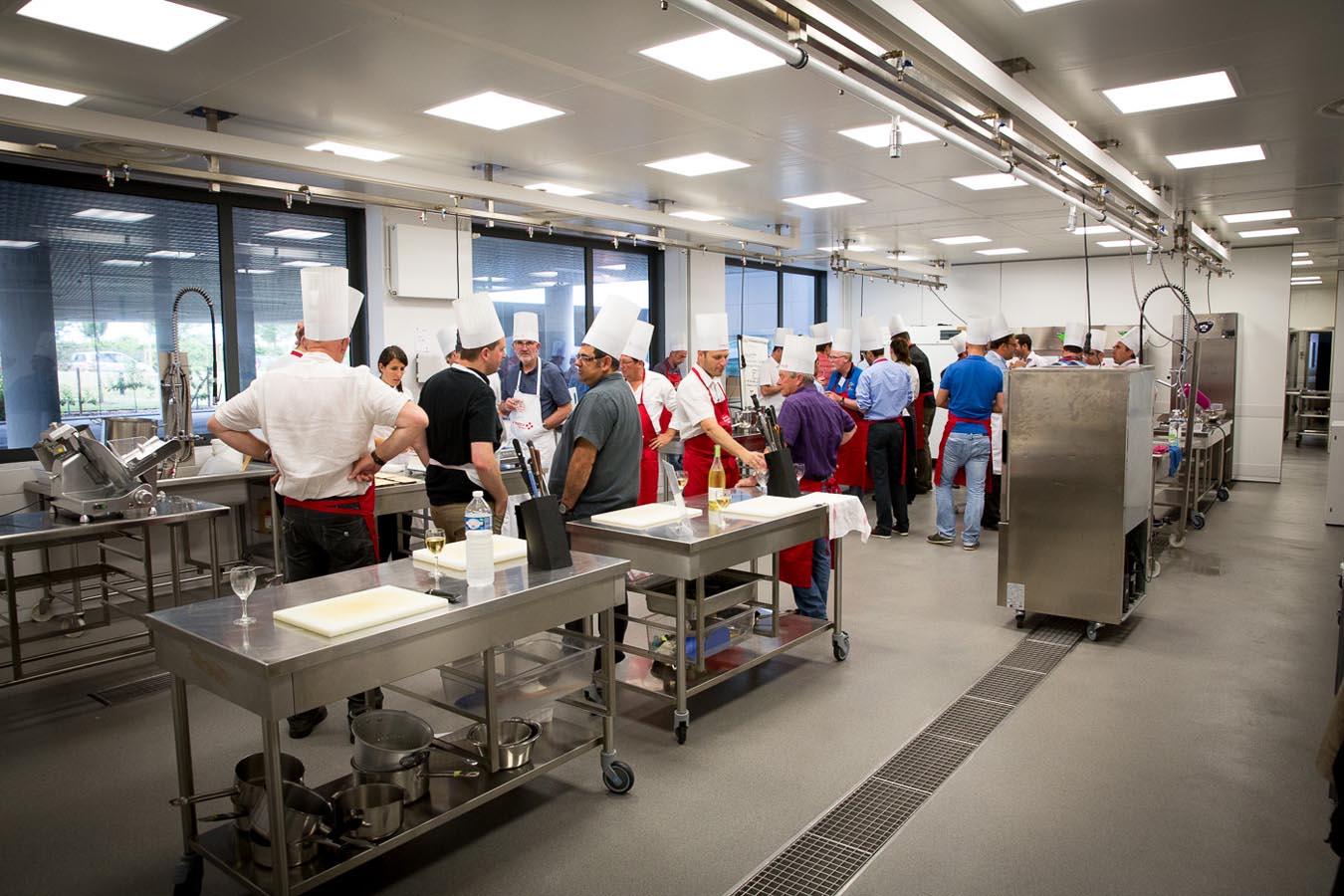 Atelier d'innovation culinaire au Centre Culinaire Contemporain